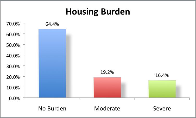 Housing Burden in 2008