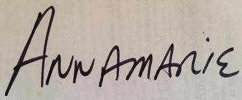 Signature of Annamarie