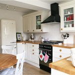 A clean and uncluttered Kitchen