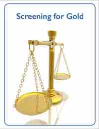 Cover for Screening For Gold