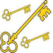 Three-golden-key