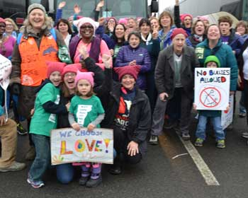 Women's March for Love and Kindness
