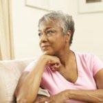 Senior Woman Contemplating Change
