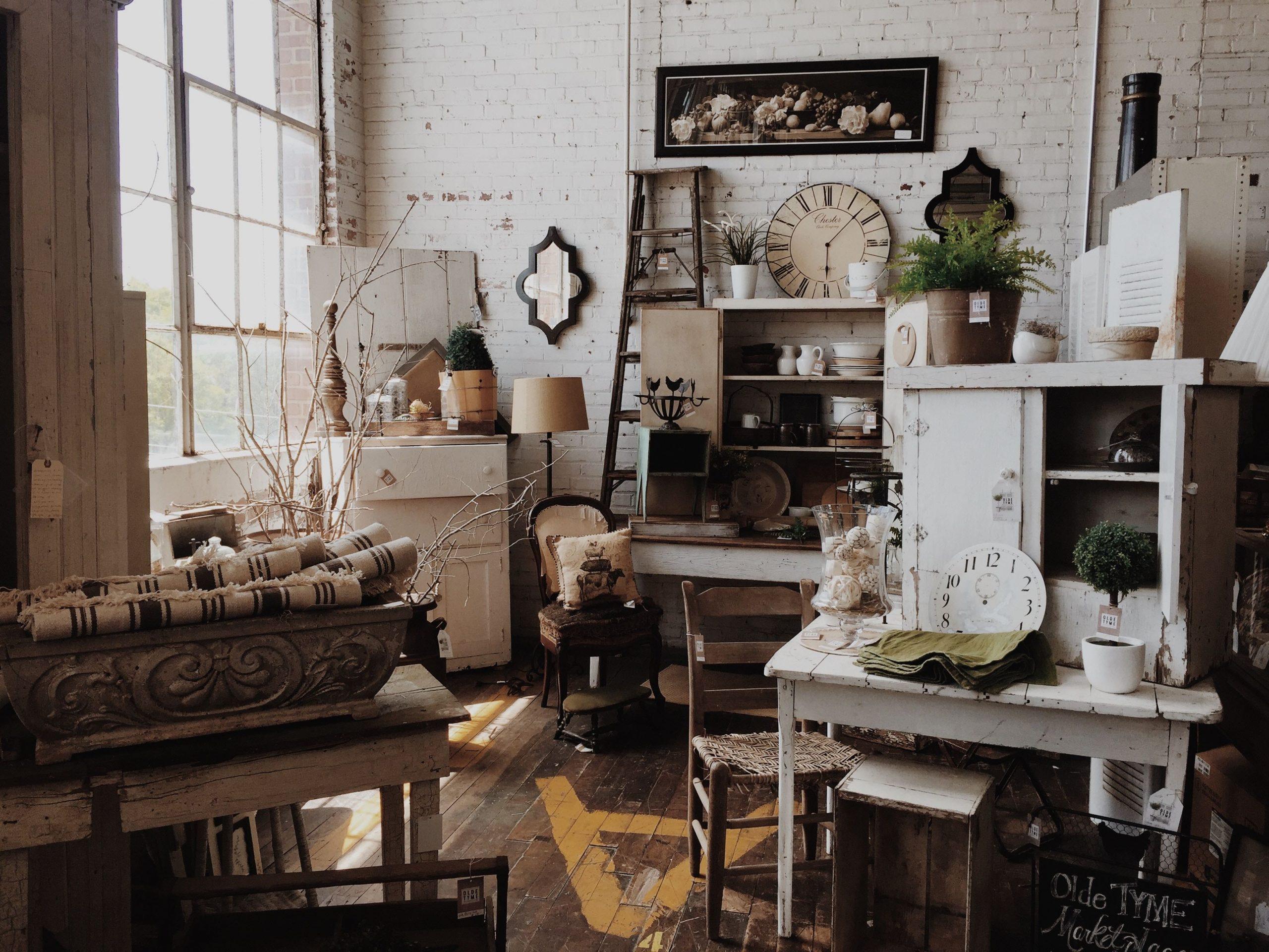 A disorganized room