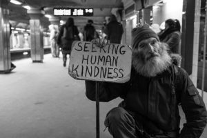 safe haven or seeking human kindness