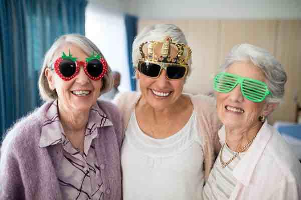 3 seniors in shared housing