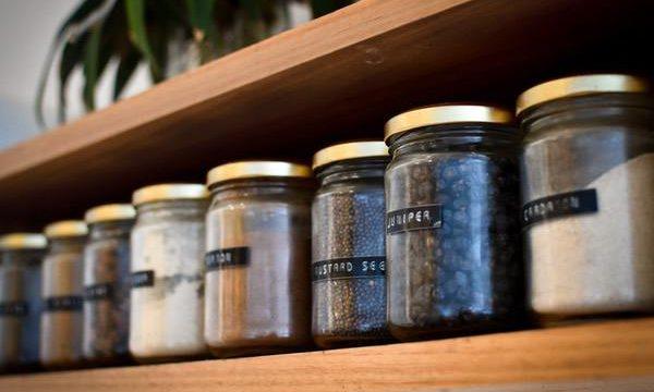 Jars on shelf-do things