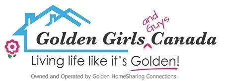 The Logo for Golden Girls and Guys Canada